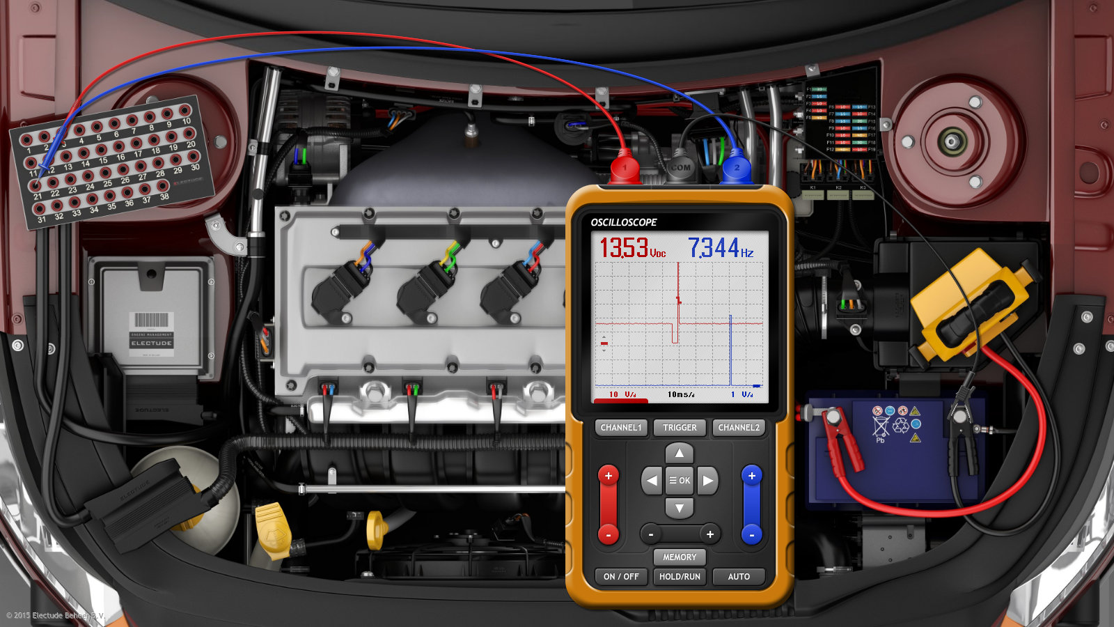 Electude Simulator Challenge Troubleshooting Electric Motor Control Circuits Wiring Simulation